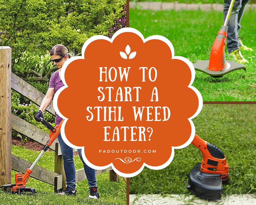 How To Start a Stihl Weed Eater? | Pad Outdoor