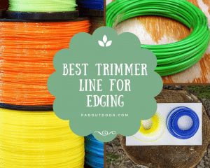 Best Trimmer Line For Edging